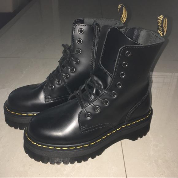 4d01eda4a04 Dr. Martens Shoes - Platform dr. Martens jadon 8 eye boots